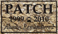 Sandy Buff Granite Pet Memorial